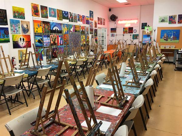 SunDust Gallery Paint & Pottery Studio