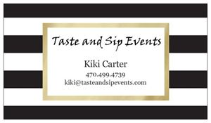 Taste and Sip Events