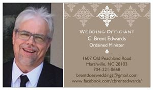 Wedding Officiant - Brent Edwards