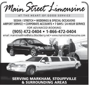 Main Street Limousine Services Ltd.