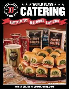 Jimmy Johns Gourmet Sandwiches