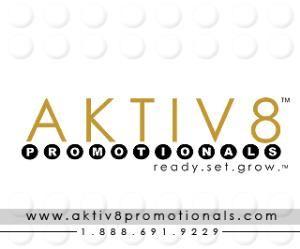 AKTIV8 Promotionals