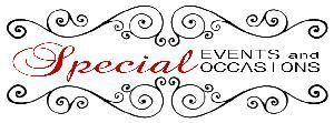 Special Events and Occasions