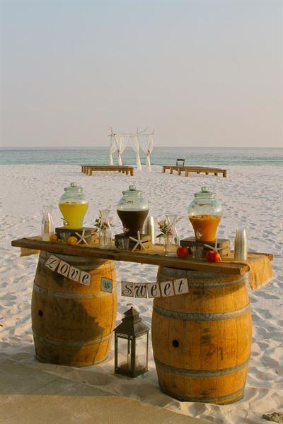 White Sand Wedding