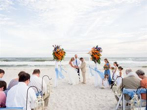 Sand Dollar Beach Weddings and Receptions
