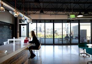 Atrium and Deck