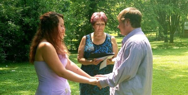 Just Married by Vicky Stewart Weddings