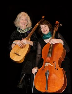 Troubadora (duo:Cello with Lute Guitar)
