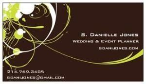 S Danielle Jones Wedding & Events