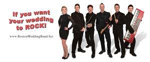Boston Wedding Band-Men in Black