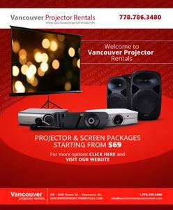 Vancouver Projector Rentals