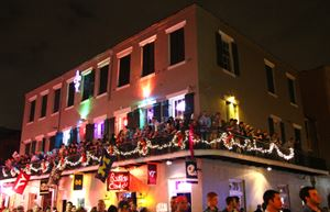 Bourbons Best Balconies and French Quarter Courtyards