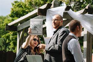 Christian Alvirez, Wedding Officiant