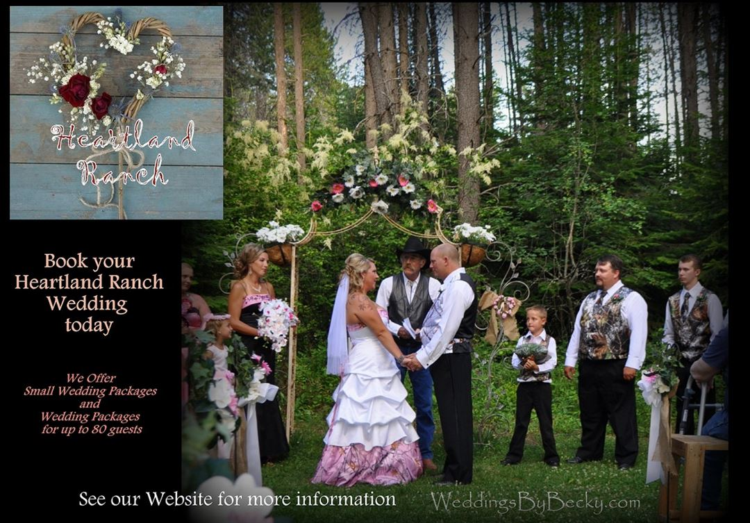 Heartland Ranch Weddings Coeur D Alene Id Wedding Venue