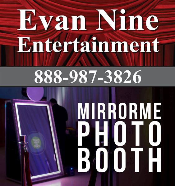 Evan Nine Entertainment-Wedding DJ/MC, Wedding Photography, Wedding Officiant, MIrror Photobooth