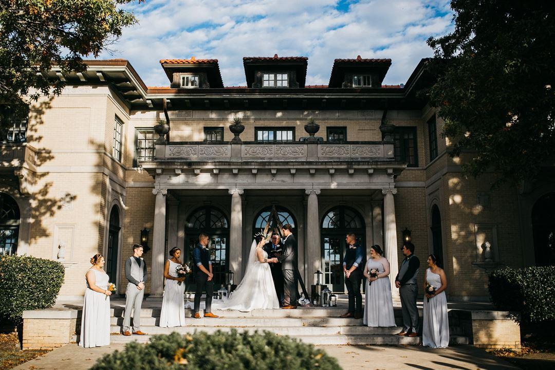 The Mansion At Woodward Park Tulsa Ok Wedding Venue