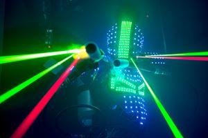 TI BOTS - LED Robot Toronto