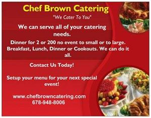 Chef Brown Catering