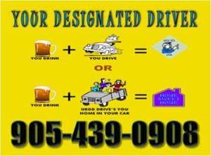URDD Designated Drivers