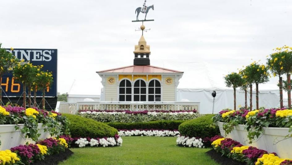 The Preakness Winner's Circle courtesy of Eventective.