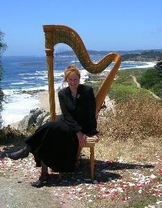 Harpist Juli Alexander