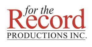 For the Record Productions Inc.