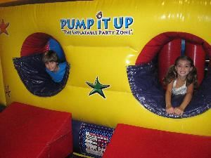 "Pump It Up ""The Indoor Inflatable Party Zone"""