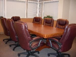 Conference Room - accommodates 8-12 people