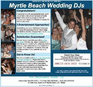Myrtle Beach Wedding DJs