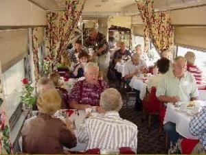 The Duncan Hines Dining Car