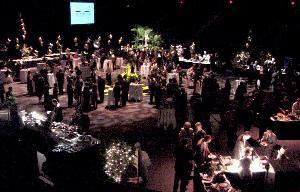 Arena Floor Banquet Set