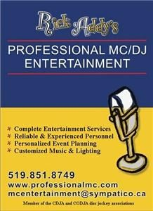Professional MC DJ Entertainment