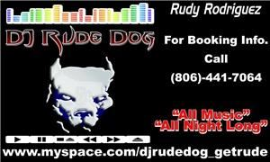 DJ Rude Dog Mobile Dj Service