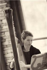 Harpist Erin Green