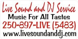 Live Sound and DJ Service