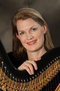 Dania M Lane Harpist Athens
