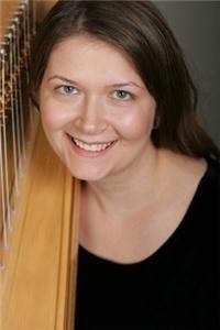 Harpist Melissa Tardiff Dvorak