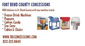 Fort Bend County Concessions - Rosenberg