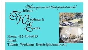 Tiffani's Weddings and Events
