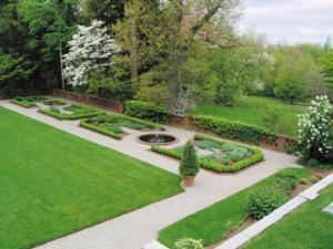 Terrace and Formal Gardens