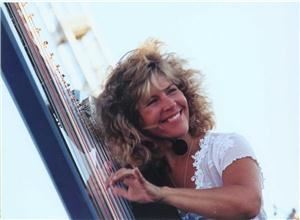Lori Andrews JazHarp Records Palm Springs