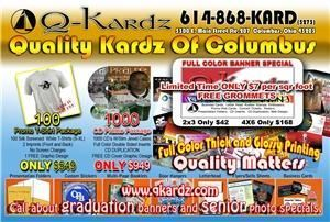 QKardz com Quality full color printing