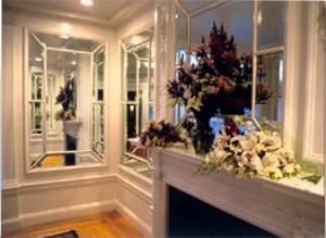Mirrored Parlor