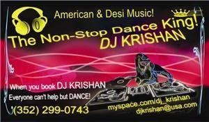 DJ KRISHAN - Gainesville