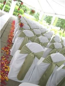DM Wedding Rentals - Chair Covers and Sashes
