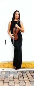 Violinist Janine newfield