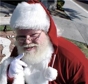 Santa Claus with Real Beard