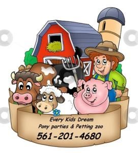 Every Kids Dream Pony Party and Petting Zoo