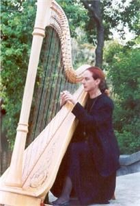 Patrice Fisher, harpist