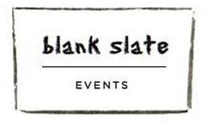 Blank Slate Events